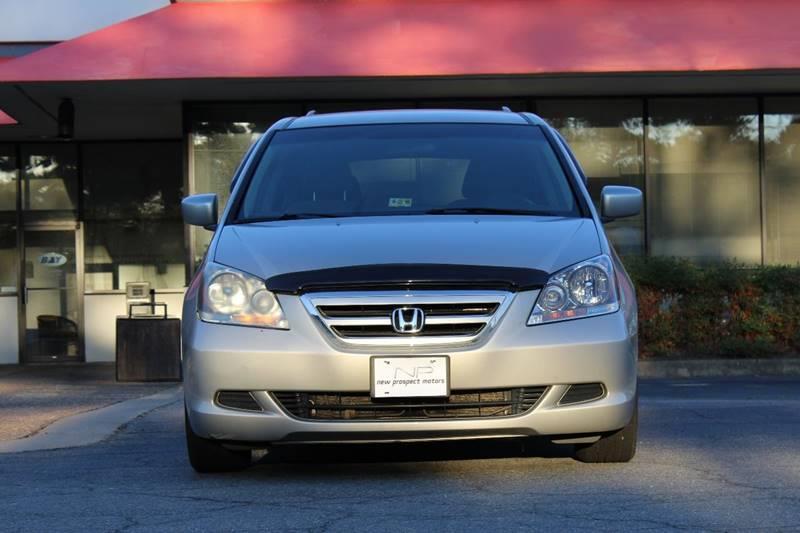2006 Honda Odyssey For Sale At New Prospect Motors LLC In Hampton VA