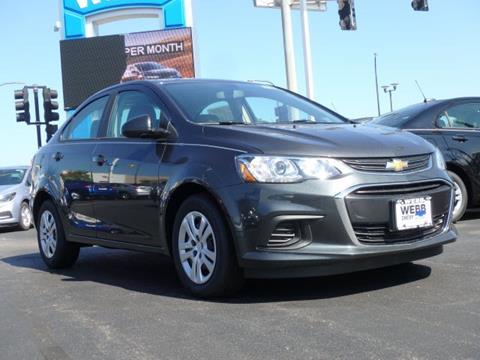 2017 Chevrolet Sonic for sale in Oak Lawn IL