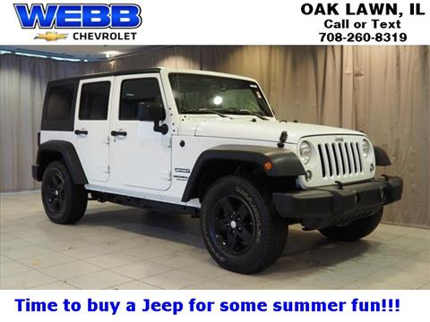 2016 Jeep Wrangler Unlimited for sale in Oak Lawn, IL