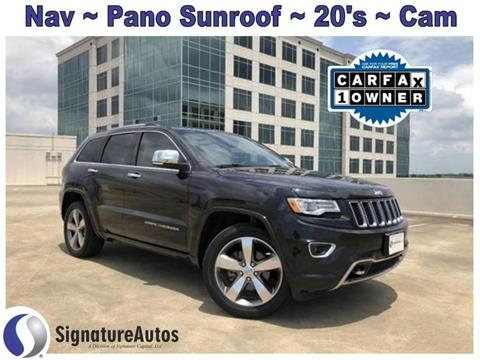 Jeep Grand Cherokee For Sale in Austin, TX - SIGNATURE AUTOS