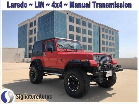 1989 Jeep Wrangler for sale in Austin, TX