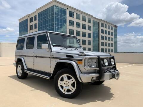 2002 Mercedes-Benz G-Class for sale at SIGNATURE Sales & Consignment in Austin TX