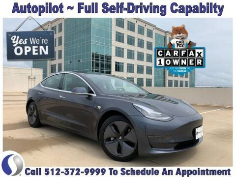 2018 Tesla Model 3 for sale at SIGNATURE Sales & Consignment in Austin TX