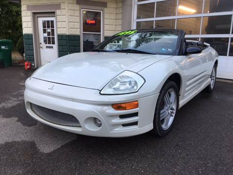 2003 Mitsubishi Eclipse Spyder for sale in Cambridge Springs, PA