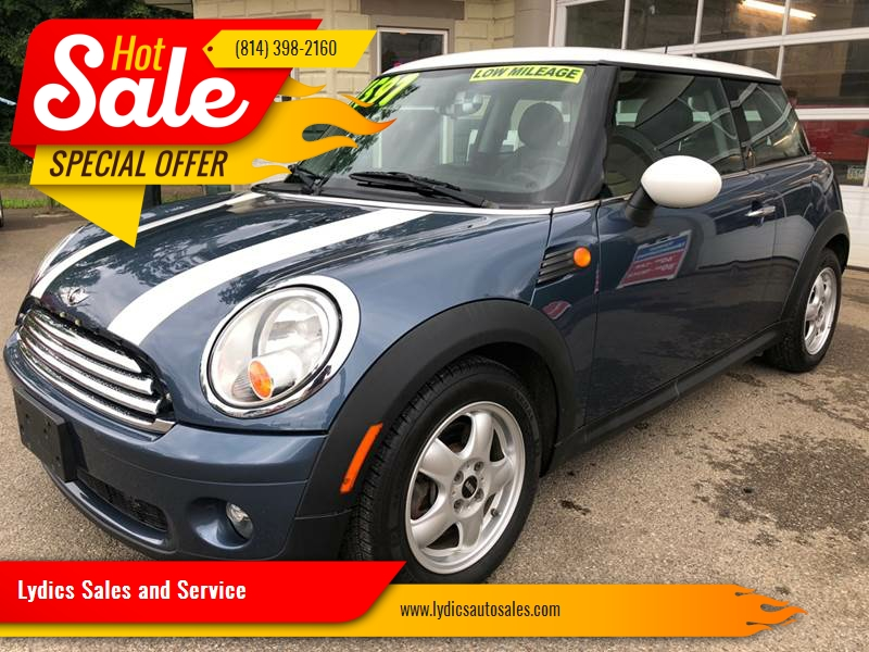 2010 mini cooper in cambridge springs pa lydics sales and service. Black Bedroom Furniture Sets. Home Design Ideas