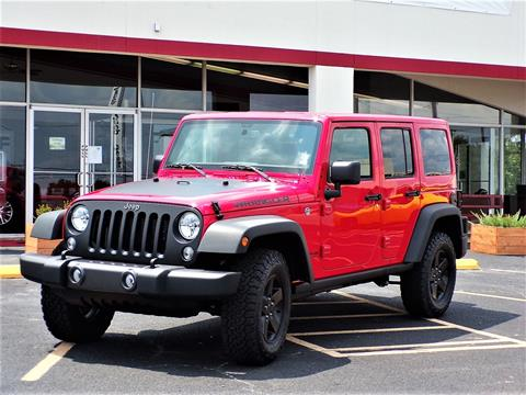 2017 Jeep Wrangler Unlimited for sale in Poteau, OK