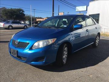 2009 Toyota Corolla for sale at Oasis Cars LLC in Austin TX