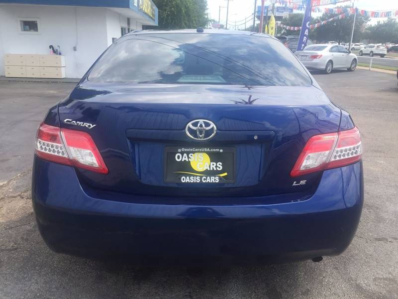2011 Toyota Camry for sale at Oasis Cars LLC in Austin TX