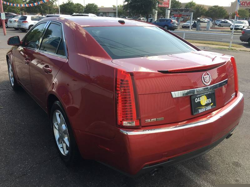 2008 Cadillac CTS for sale at Oasis Cars LLC in Austin TX