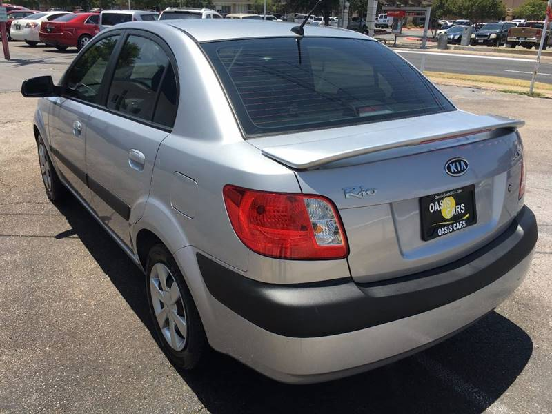 2007 Kia Rio for sale at Oasis Cars LLC in Austin TX