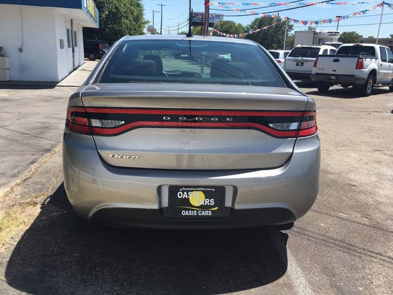 2015 Dodge Dart for sale at Oasis Cars LLC in Austin TX