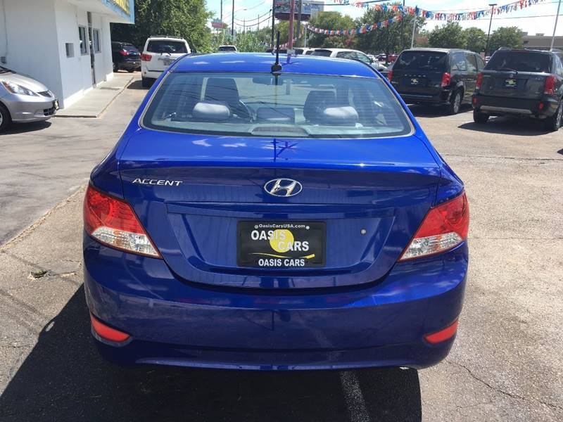 2012 Hyundai Accent for sale at Oasis Cars LLC in Austin TX