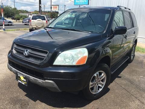 2003 Honda Pilot for sale at Oasis Cars LLC in Austin TX