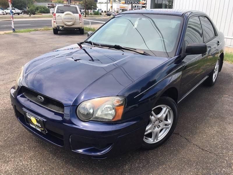 2005 Subaru Impreza for sale at Oasis Cars LLC in Austin TX