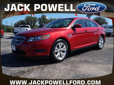 2012 Ford Taurus for sale in Mineral Wells TX