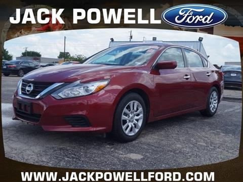 2016 Nissan Altima for sale in Mineral Wells TX
