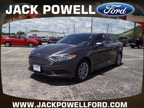 2017 Ford Fusion for sale in Mineral Wells, TX