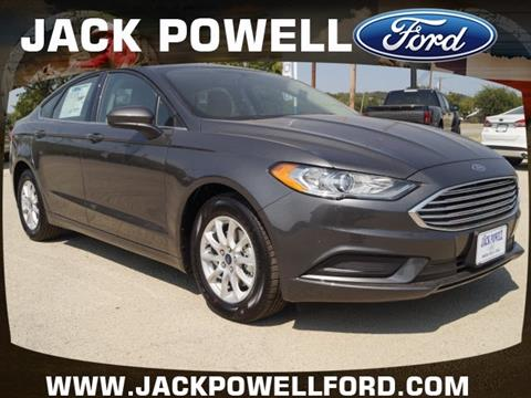 2018 Ford Fusion for sale in Mineral Wells TX