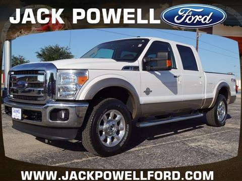 2012 Ford F-250 Super Duty for sale in Mineral Wells TX