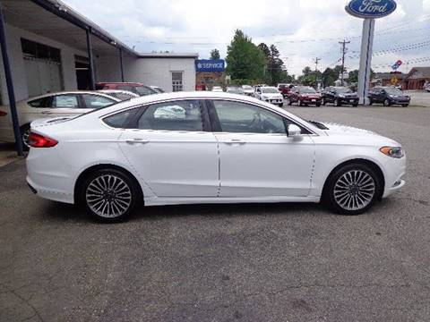 2017 Ford Fusion for sale in Elkin, NC