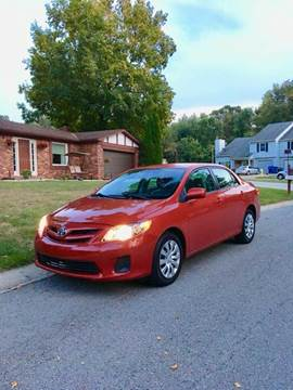 2012 Toyota Corolla for sale in Frankfort, IN