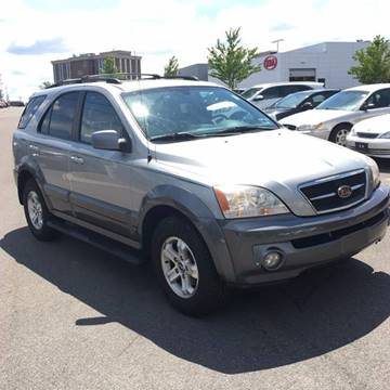 2004 Kia Sorento for sale at Blue Chip Auto Sales in Rochester NY