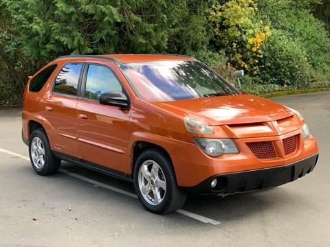 2005 Pontiac Aztek for sale in Federal Way, WA