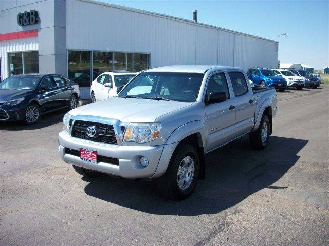 2011 Toyota Tacoma for sale at G & B  Motors in Havre MT