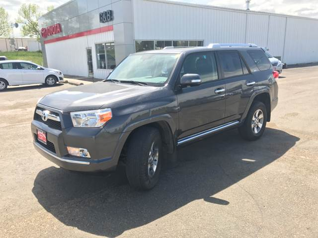 2013 Toyota 4Runner for sale at G & B  Motors in Havre MT