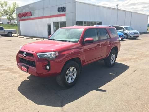 2015 Toyota 4Runner for sale at G & B  Motors in Havre MT