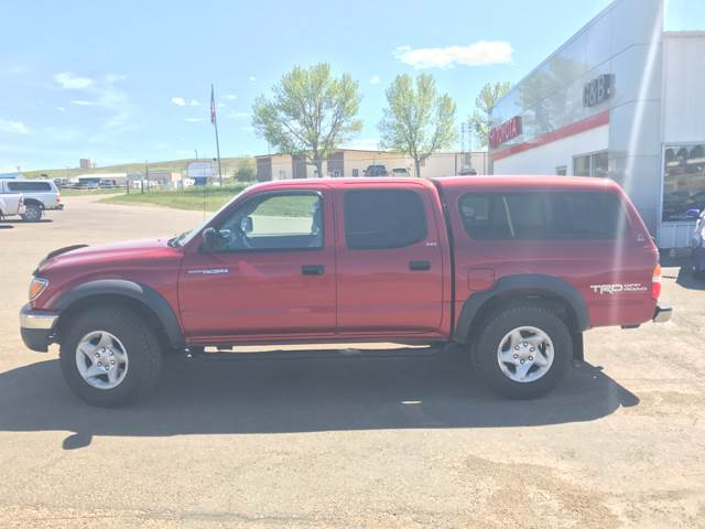 2003 Toyota Tacoma for sale at G & B  Motors in Havre MT