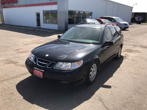 2002 Saab 9-5 for sale at G & B  Motors in Havre MT