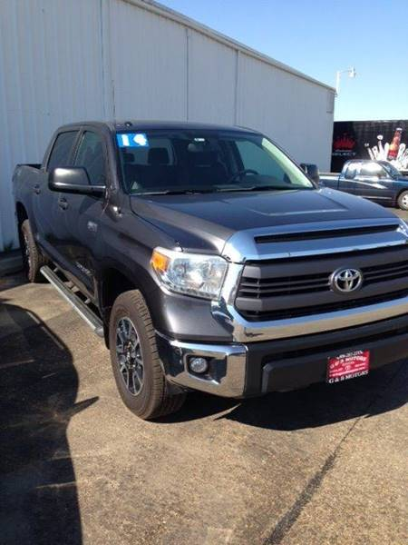 2014 Toyota Tundra for sale at G & B  Motors in Havre MT