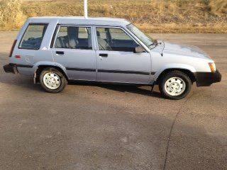 1987 Toyota Tercel for sale at G & B  Motors in Havre MT