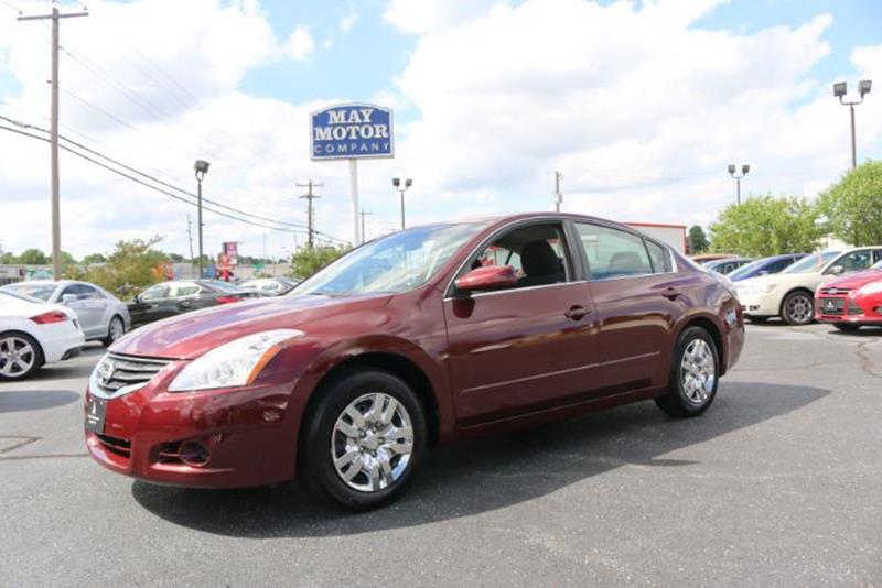 2012 Nissan Altima 25 S May Motor Company