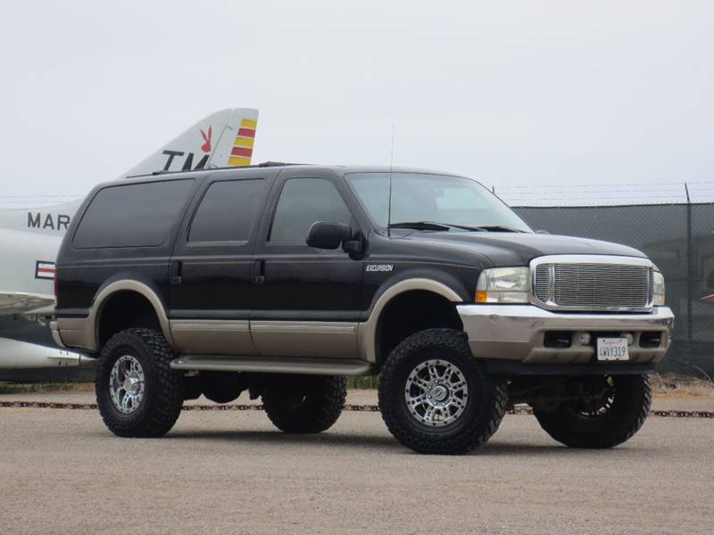 Ford Excursion Limited In San Diego CA Bridgepoint Auto Group - 2002 excursion