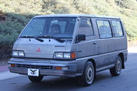 Mitsubishi vans for sale
