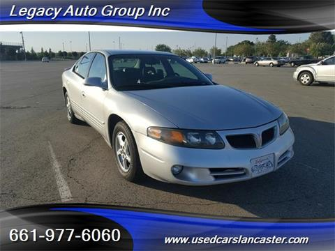 2002 Pontiac Bonneville for sale in Lancaster, CA