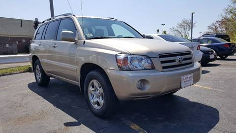 2007 Toyota Highlander for sale at Gia Auto Sales in East Wareham MA