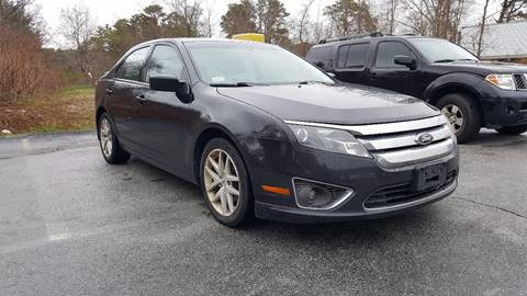 2010 Ford Fusion for sale at Gia Auto Sales in East Wareham MA