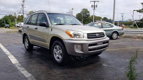 2003 Toyota RAV4 for sale at Gia Auto Sales in East Wareham MA