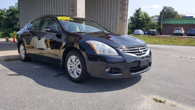 Captivating 2010 Nissan Altima For Sale At Gia Auto Sales In East Wareham MA