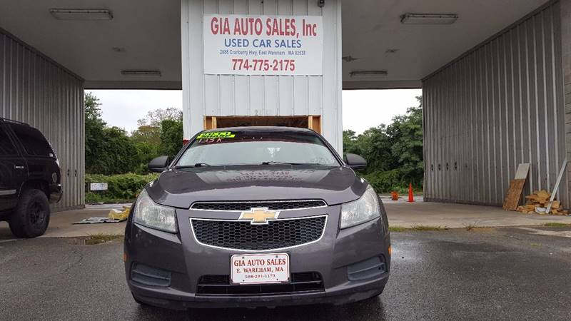 2011 Chevrolet Cruze for sale at Gia Auto Sales in East Wareham MA