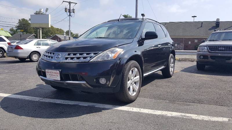 2007 Nissan Murano for sale at Gia Auto Sales in East Wareham MA