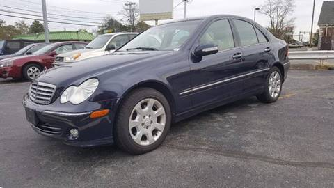 2005 Mercedes-Benz C-Class for sale at Gia Auto Sales in East Wareham MA