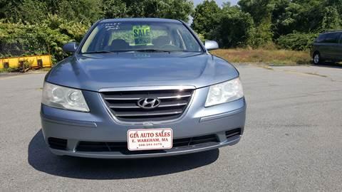 2009 Hyundai Sonata for sale at Gia Auto Sales in East Wareham MA