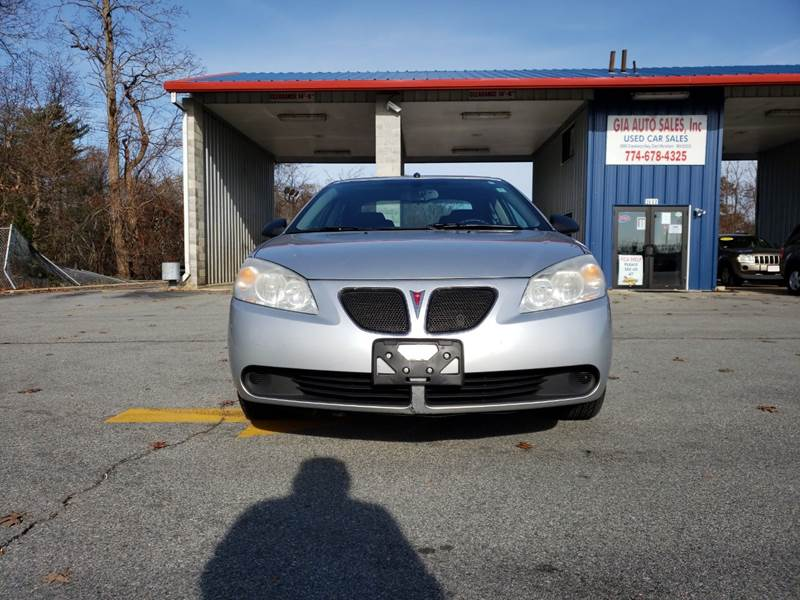 2009 Pontiac G6 for sale at Gia Auto Sales in East Wareham MA
