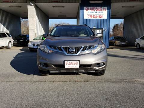 2011 Nissan Murano for sale at Gia Auto Sales in East Wareham MA