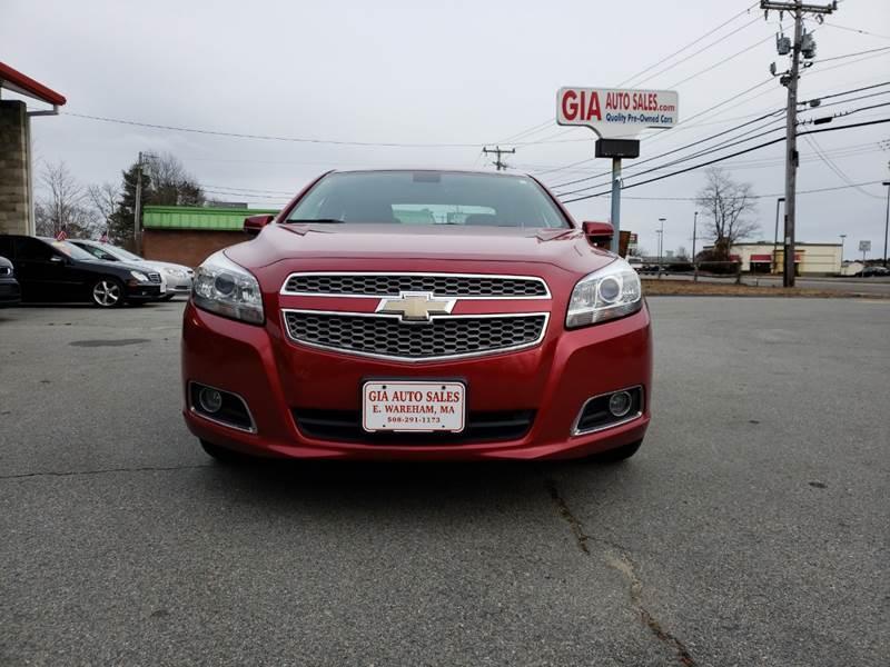 2013 Chevrolet Malibu for sale at Gia Auto Sales in East Wareham MA
