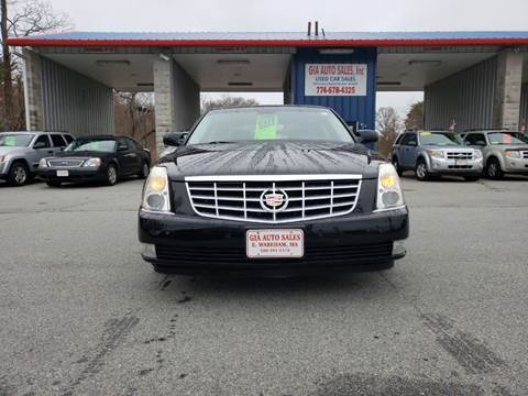 2008 Cadillac DTS for sale at Gia Auto Sales in East Wareham MA